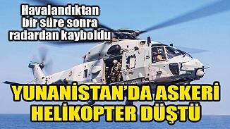 NATO bünyesine bağlı Kanada helikopteri Yunanistan açıklarında denize düştü!