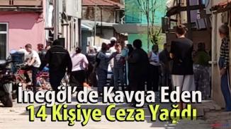 Bursa'da Olaylı kavgaya polis acımadı! 88 bin cezayı kesti