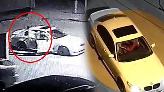Otomobil içinde kadına şiddet! Tekme tokat dövdü