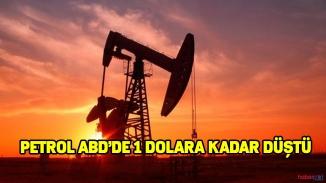 Petrol fiyatları ABD dibi gördü! Petrol ABD'de 1 dolar