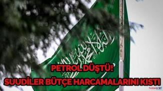 Petrol fiyatları çakıldı Suudi Arabistan bütçeyi kıstı!