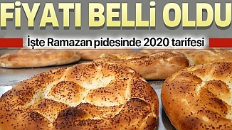 Pide fiyatları belli oldu! İstanbul'da 3 liradan satılacak