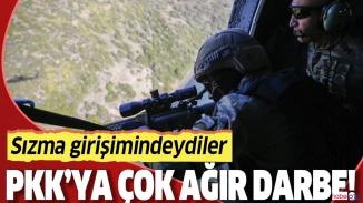 PKK'ya şok! 20 PKK/YPG'li terörist öldürüldü