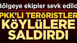 PKK terör örgütü Diyarbakır'da köylülere saldırdı! 5 şehit