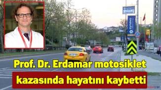 Profesör feci ölümü! motosiklet kazasında hayatını kaybetti