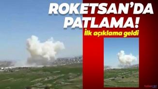 Roketsan'da korkutan patlama!