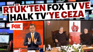 RTÜK TV kanallarına acımadı! FOX TV, TV8 ve Halk TV'ye ceza