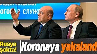 Rusya Başbakanı Mihail Mişustin Covid-19 testinin  pzitif çıktığını açıkladı!