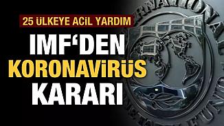 Salgınla mücadelede IMF'den 25 üye ülkeye acil borç yardımı!