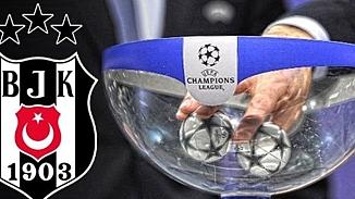 Şampiyonlar Ligi'nden Beşiktaşa müjde