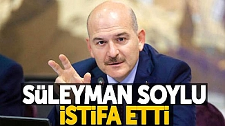 Son dakika! İçişleri Bakanı Süleyman Soylu istifa ederek görevinden ayrıldı