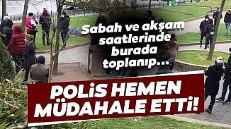Sultangazi'de bir araya gelen günübirlik işçiler polis müdahalesiyle dağıtıldı