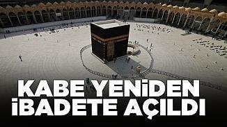 Suudi makamları Kabe'yi tekrar ziyarete açtı