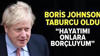 Taburcu edilen İngiltere Başbakanından sağlık ekibine teşekkür
