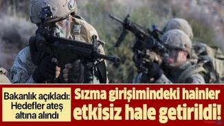 TSK teröristlere göz açtırmıyor!