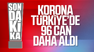 Türkiye'de son 24 saatte 96 kişi hayatını kaybetti! Toplam kayıp 908'e yükseldi