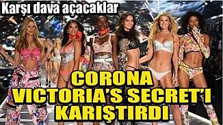 Victoria's Secret'a Koronavirüs darbesi; Ortalık karıştı