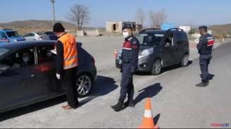 Yozgat'ta emniyet korona virüs tedbirlerine uymayanlara göz açtırmıyor