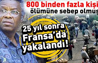 25 yıldır aranan Ruanda soykırımının sorumlusu Felicien Kabuga yakalandı