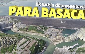 70 yıldır beklenen an! Ilısu Barajı'nda elektrik üretimi için düğmeye basılıyor