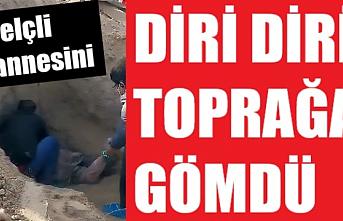 79 yaşındaki felç hastası annesini diri diri toprağa gömdü!