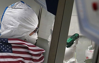 ABD'nin son 24 saat koronavirüs bilançosu!