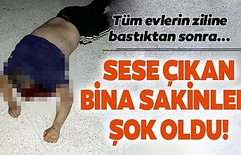 Antalya'da zile basıp yardım isteyen adamın hazin sonu!