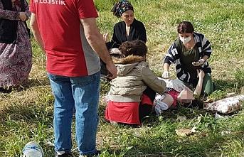 Avcılar'da bir kadın eşi tarafından sokak ortasında defalarca bıçaklandı!