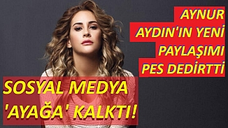Aynur Aydın yine tarzını konuşturdu; Sosyal medya 'ayağa' kalktı