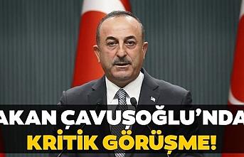 Bakan Çavuşoğlu, 3 ülke Dışişleri Bakanıyla dörtlü zirve gerçekleştirdi