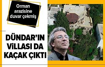 Can Dündar'ın Bodrum'daki villasına kaçak alan şoku!