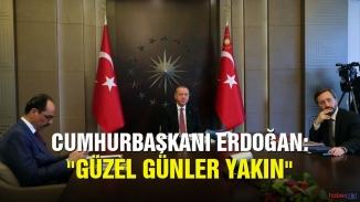 Cumhurbaşkanı Erdoğan'dan hastanede tedavi gören hastalara video konferans sürprizi