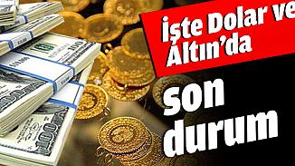 Dolar ve altında son durum! 4 Mayıs dolar kuru ve çeyrek altın fiyatları