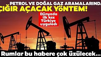 Dünyada bir ilk! Türk Bilim insanlarından petrol aramada yeni yöntem