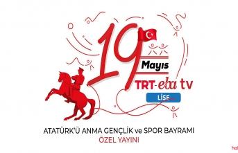 TRT EBA TV 19 Mayıs özel yayın akışı