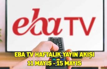 EBA TV ilkokul, ortaokul ve lise dersleri ve tekrar dersleri 14 Mayıs Perşembe
