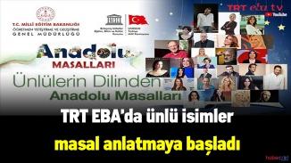 Eba Tv kanallarında bir yenilik daha! Ünlü isimlerden masal etkinliği