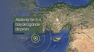 Girit adası açıkları sallandı! Deprem 6.4 şiddetinde kaydedildi