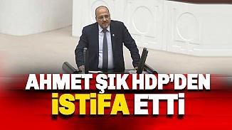 HDP'den istifa haberi! İstanbul Milletvekili Ahmet Şık partisinden ayrıldı