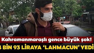 Hem ehliyet yok, hemde yasak ihlali! Lahmacun sevdası 4 bin 93 liraya mal oldu