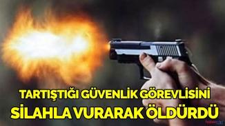 İstanbul'da korkunç cinayet! Oturduğu sitenin güvenlik görevlisini öldürdü