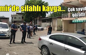 İzmir'de iki grup arasında silahlı kavga! 5 gözaltı, 15 kişiye ceza!