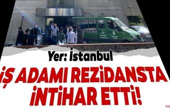 Kadıköy'de lüks rezidansta hareketli dakikalar! İş adamı canına kıydı