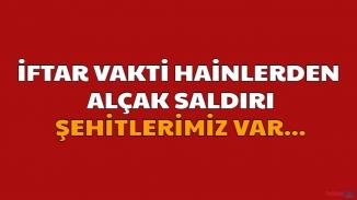 Bitlis'te kahreden kalleş saldırı! Şehitlerimiz Var