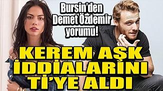 Kerem Bürsin'in aşk dedikodularına alaylı yaklaşımı