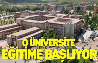 Konya Selçuk Üniversitesi Eğitim Öğretime başlıyor