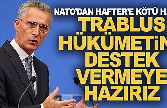 Libya'da darbeci Hafter'e NATO'dan darbe!