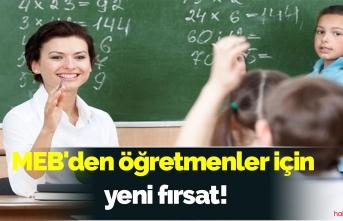 MEB'den öğretmenler için yeni fırsat! Bir çok alanda uzaktan eğitim başlıyor