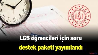 MEB LGS desteği kapsamında 1000 soruluk destek soru paketi yayımladı
