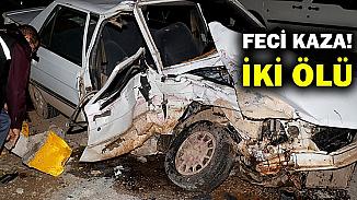 Muğla'da kamyon ile otomobil çarpıştığı kazada 2 kişi yaşamını yitirdi